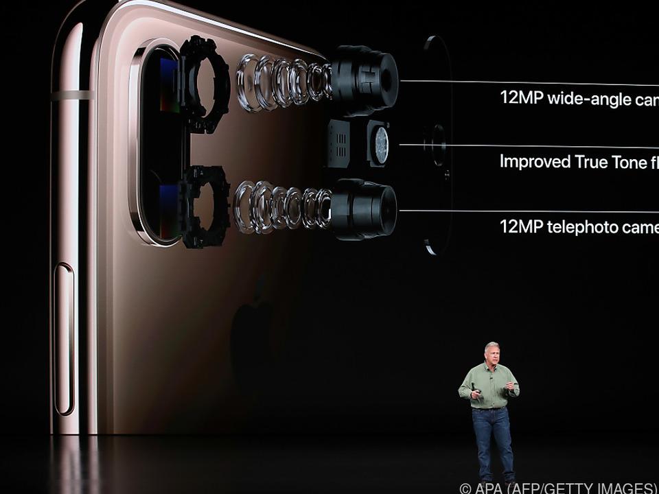 Das Dual-Kamerasystem ist laut Apple \