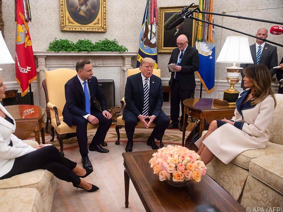 Das Treffen fand im Weißen Haus statt