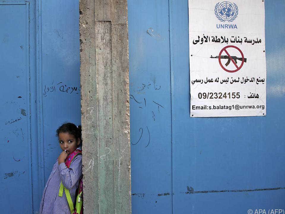 Das UNRWA betreibt in Ost-Jerusalem auch fünf Schulen
