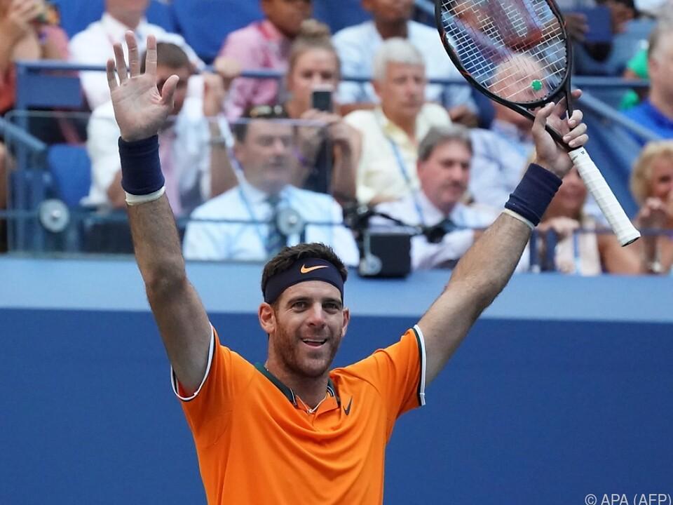 Del Potro gewann 2009 die US Open
