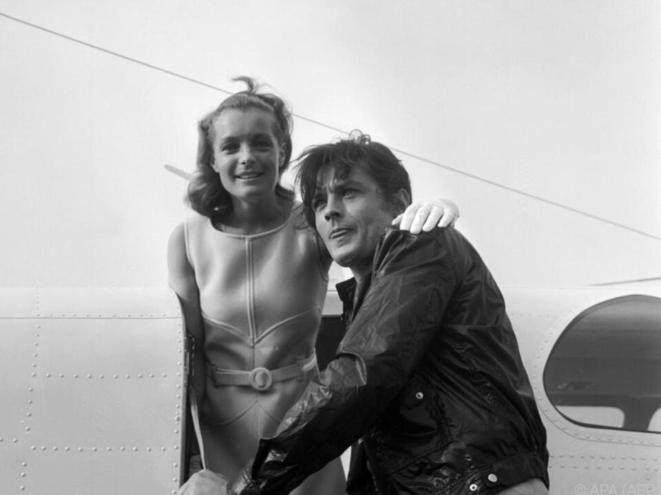 Mit Alain Delon hatte Romy Schneider eine intensive Beziehung