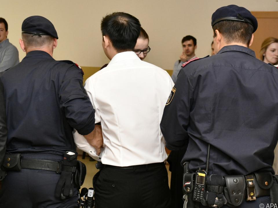 Der Angeklagte akzeptierte die Strafe