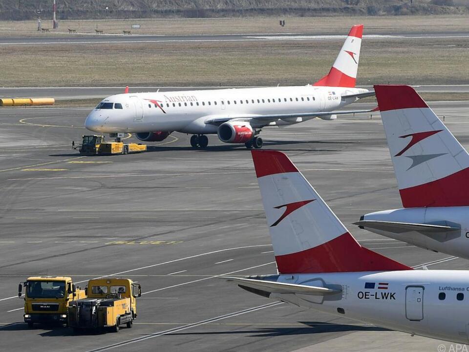Der AUA-Vorstand sieht Konkurrenz durch Billig-Airlines kritisch