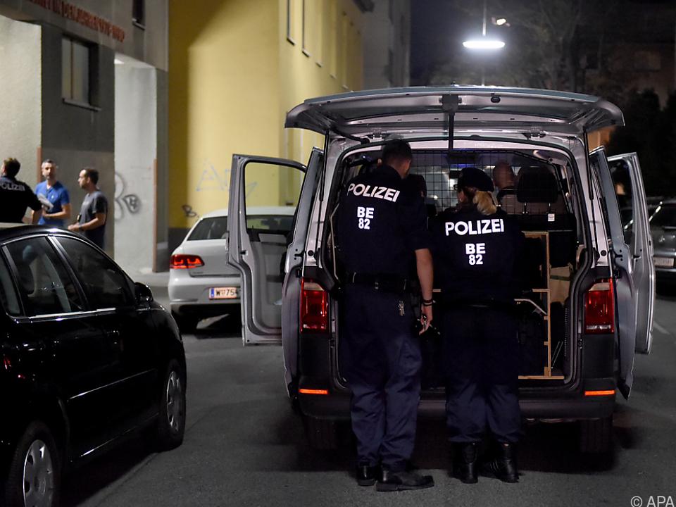 Der mutmaßliche Täter leistete keinen Widerstand bei der Verhaftung