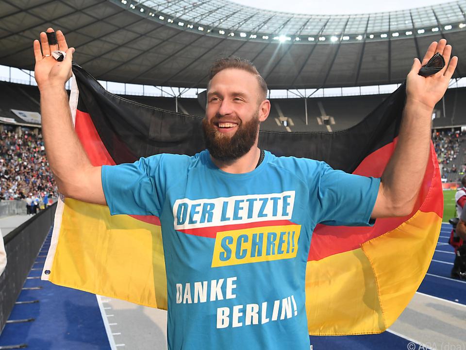 Der Olympiasieger wurde in Berlin verabschiedet