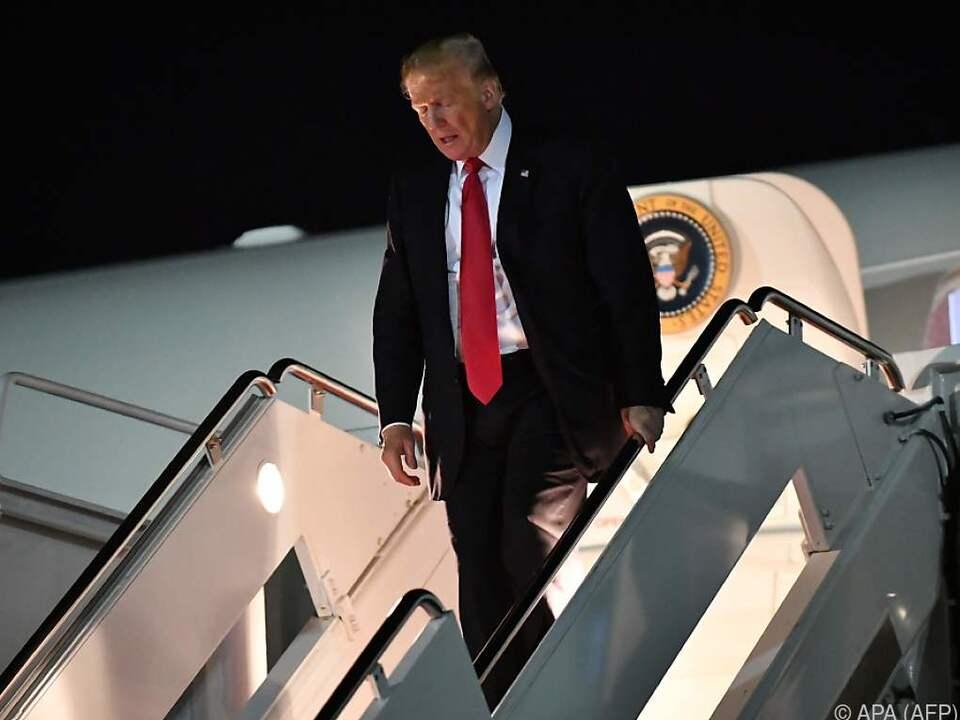 Der Präsident macht Stimmung gegen die Demokraten