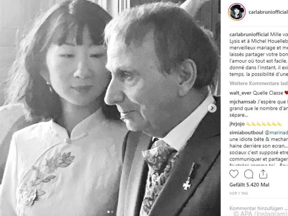 Der Schriftsteller Houellebecq heiratete offenbar in aller Stille