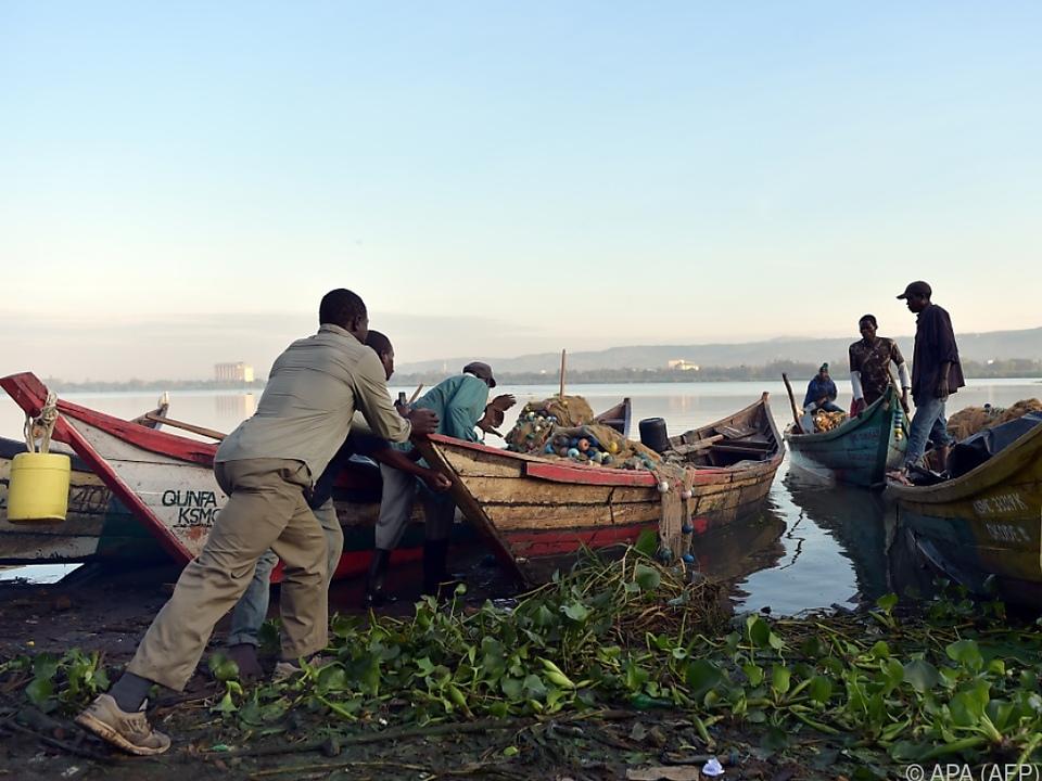 Der Victoriasee ist eine wichtige Wasserquelle in der Region