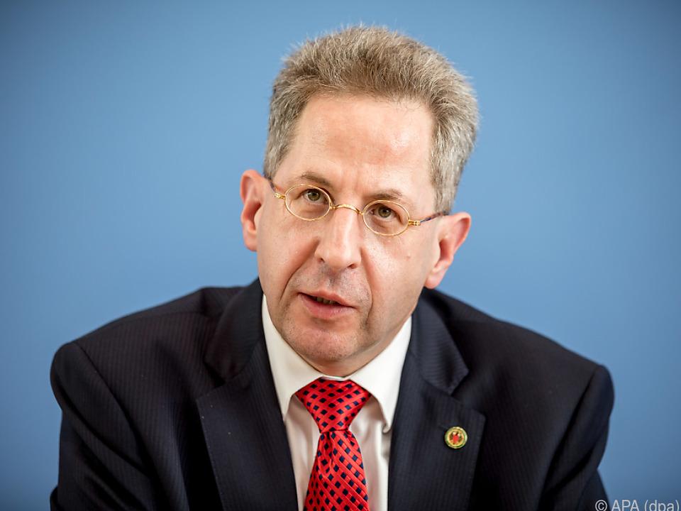 Deutscher Verfassungsschutz-Chef Hans-Georg Maaßen