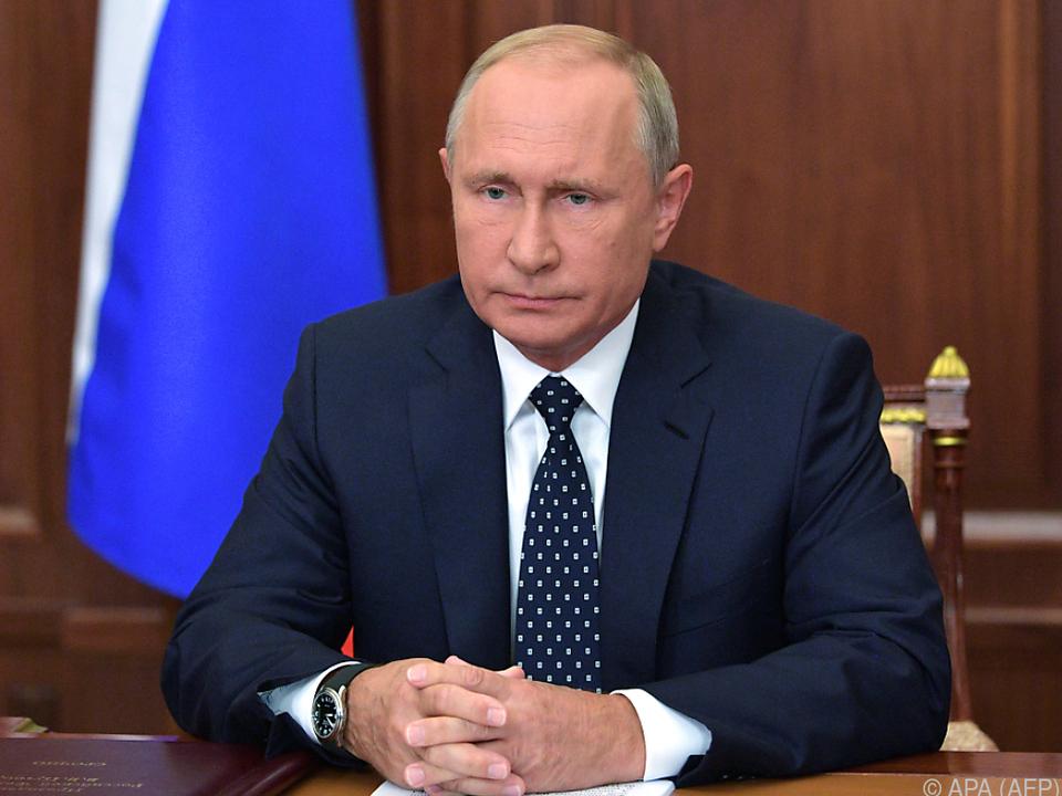 Die erste Folge der neuen Show über Putin lief am Sonntag