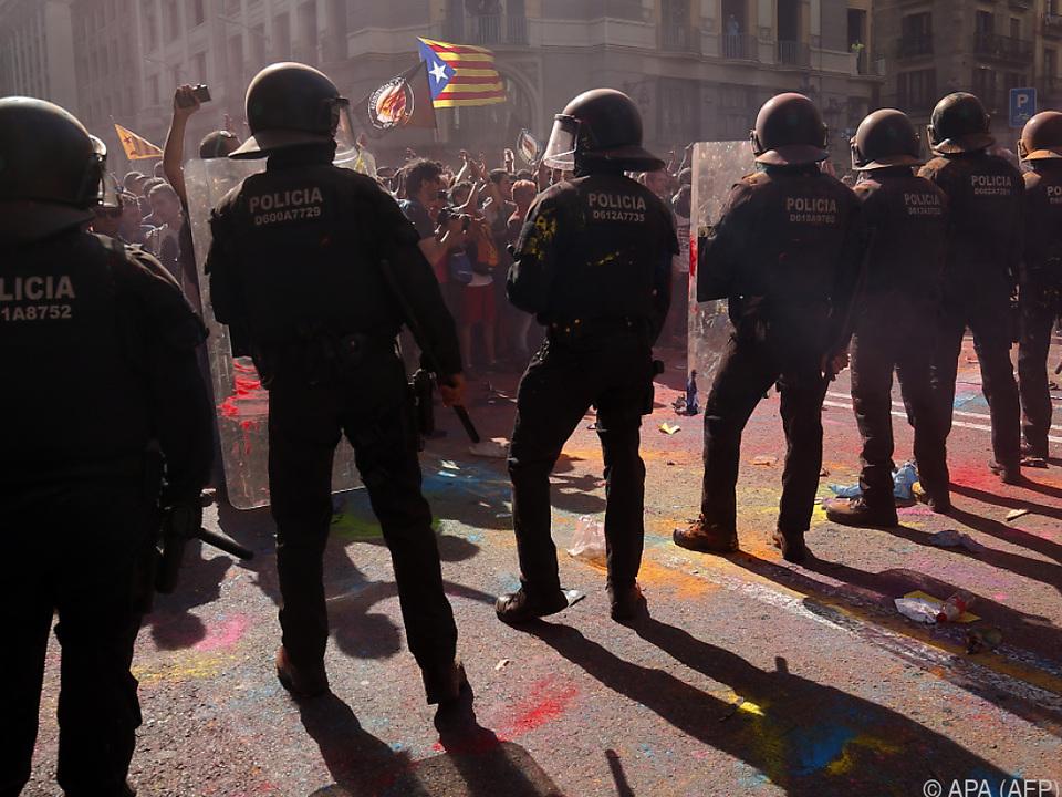Die katalanischen Gemüter sind wieder erhitzt