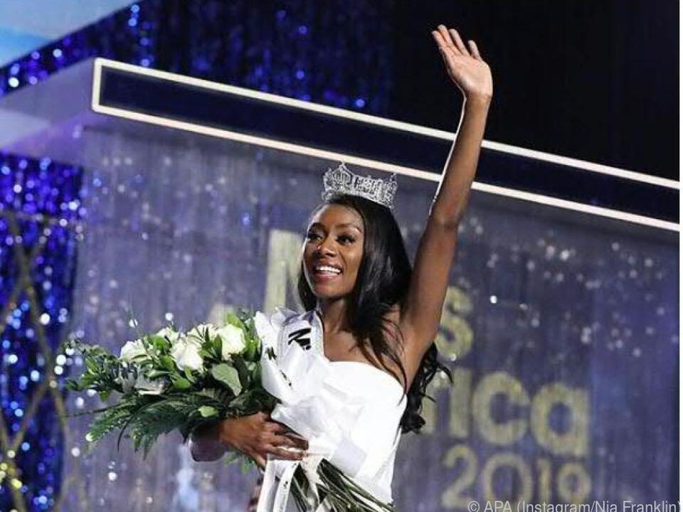 Die Kunststudentin wurde zur Miss America 2019 gekürt
