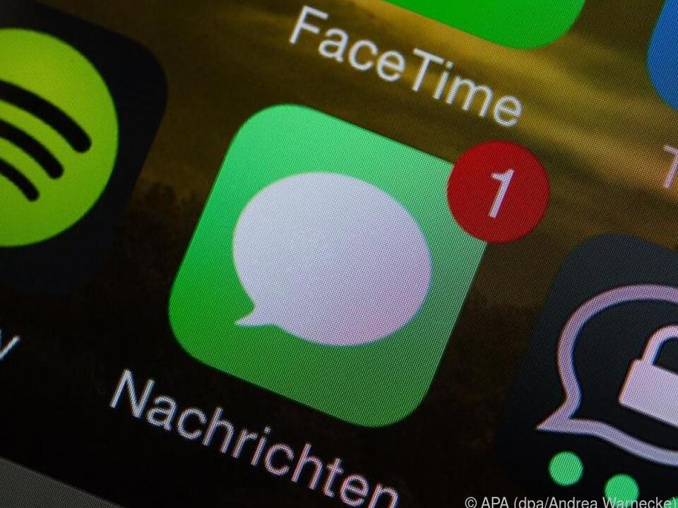 Die Namen in iMessage-Chats lassen sich personalisieren