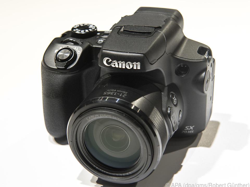 Canons Powershot SX70 HS verfügt über einen 65-fachen optischen Zoom