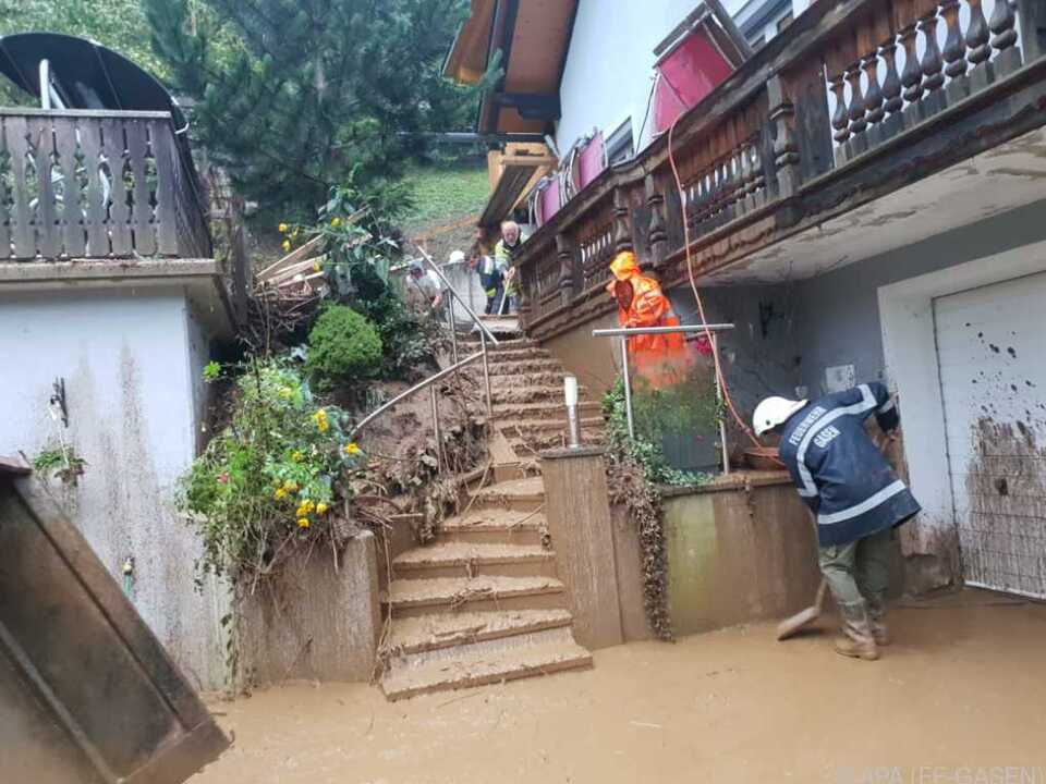 Die oststeirische Gemeinde wurde zum Katastrophengebiet erklärt