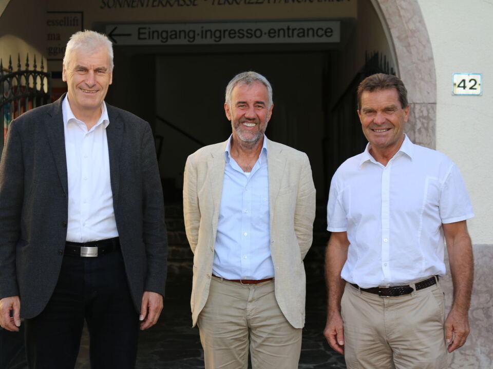 Drei Bürgermeister, Meran