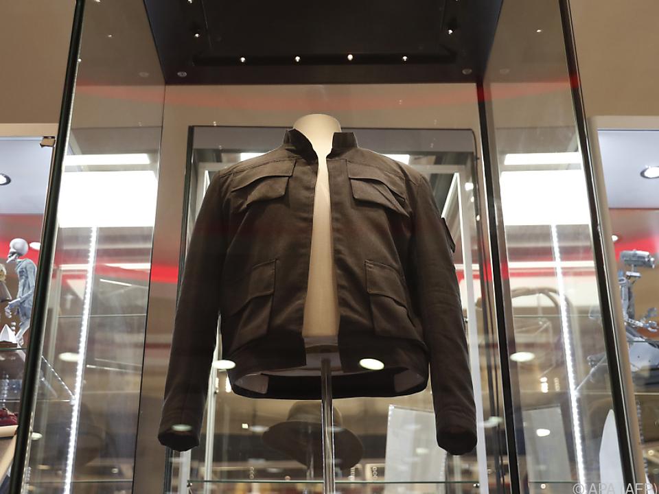 Han Solos Jacke - ebenfalls von Ford getragen - fand keinen Abnehmer