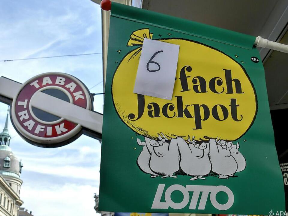 Ein Sechsfachjackpot ist die Ausnahme