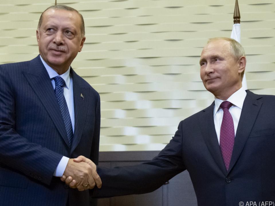 Einigung zwischen Erdogan und Putin