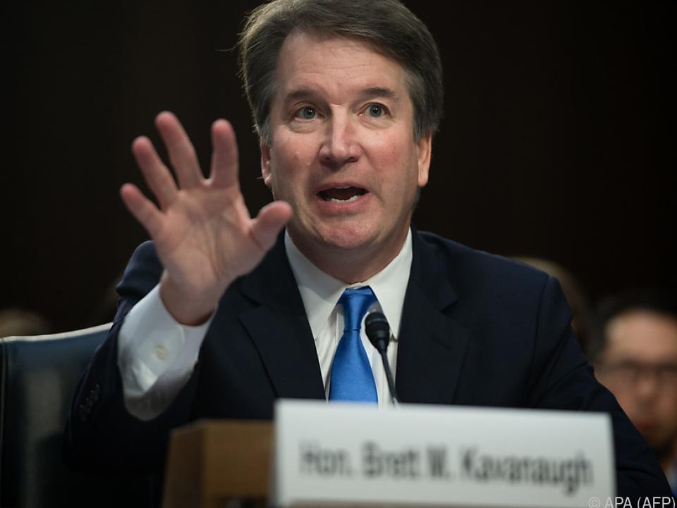 Emotionaler Auftritt des Richterkandidaten Kavanaugh