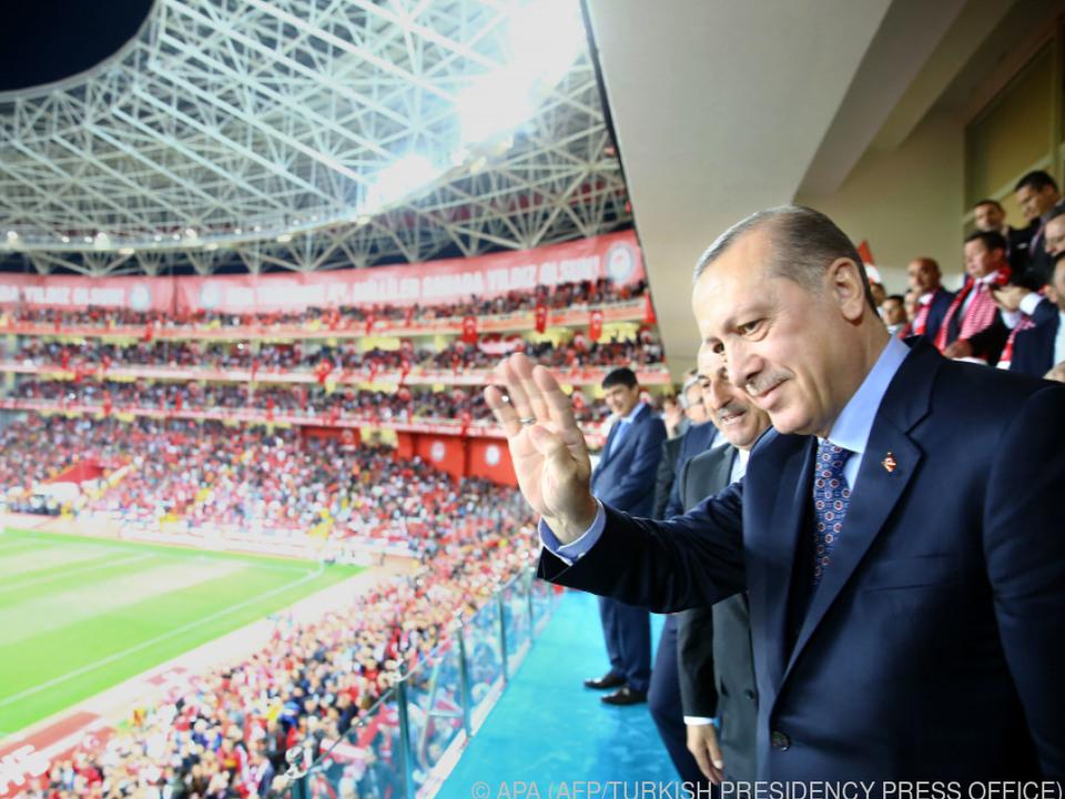 Erdogan hätte die EM gerne in der Türkei