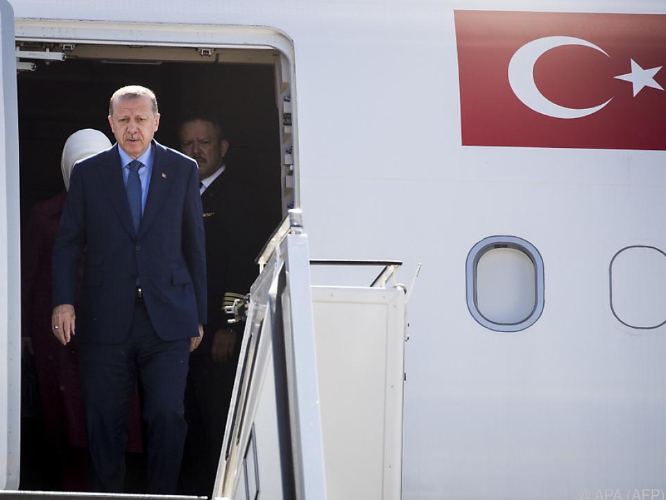 Erdogan weilt derzeit in Berlin