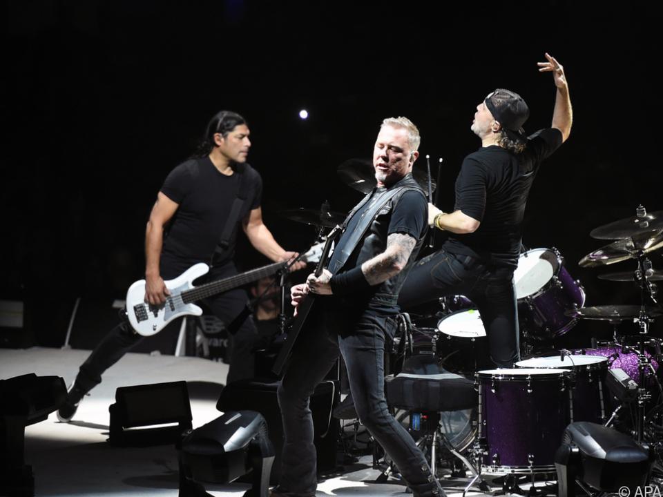 Es ist der einzige Österreich-Termin im Rahmen der Metallica-Tour