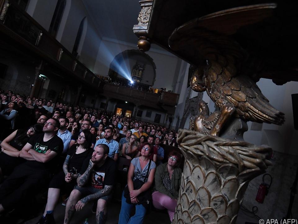 Das Publikum genoss die unheimliche Atmosphäre