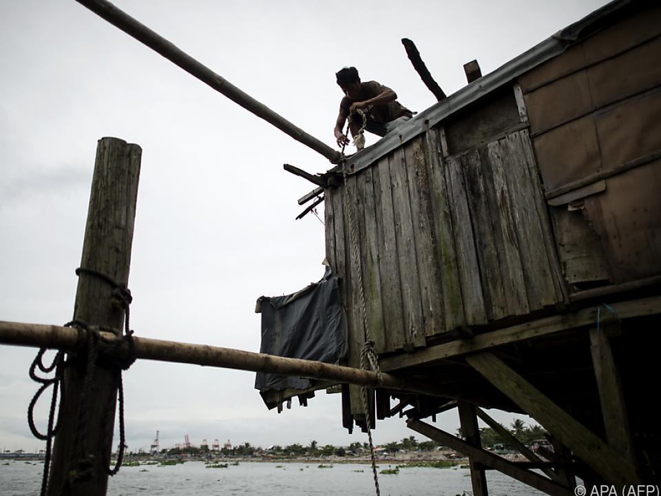 Fischer verstärken ihre Hütten