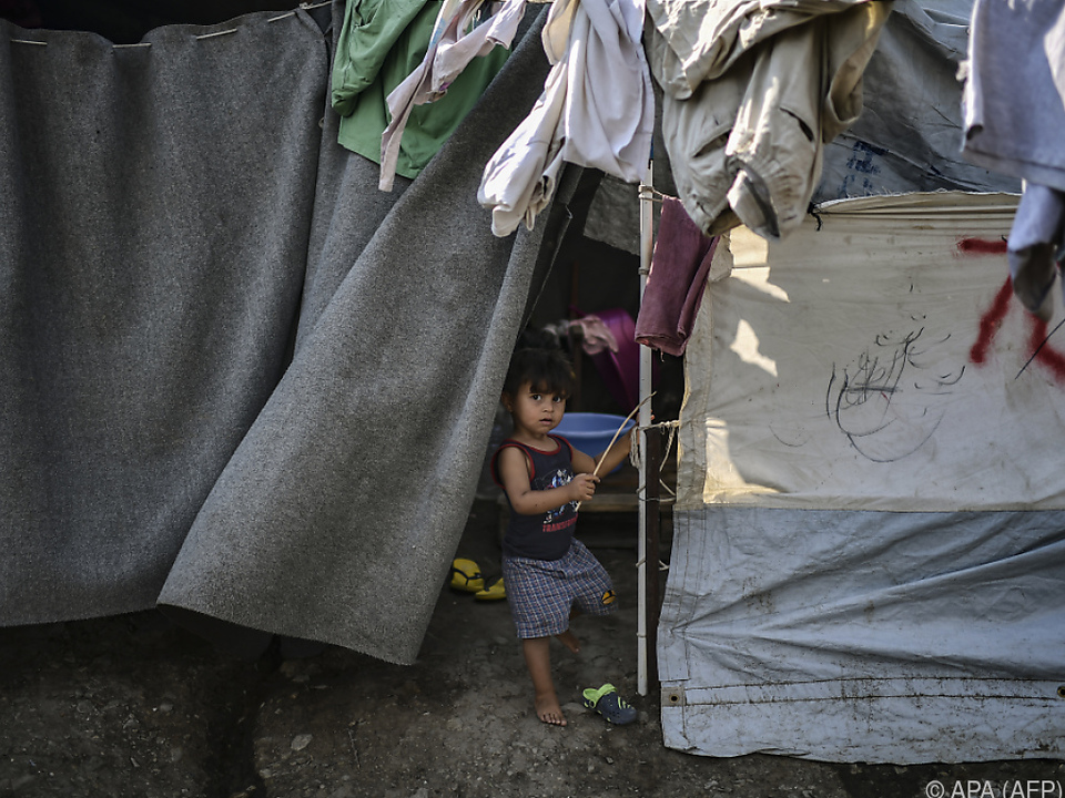 Flüchtlingslager auf Lesbos sind überfüllt