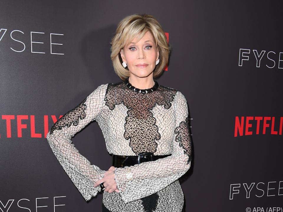 Fonda versteht auch die Aufregung um Sex im Alter nicht