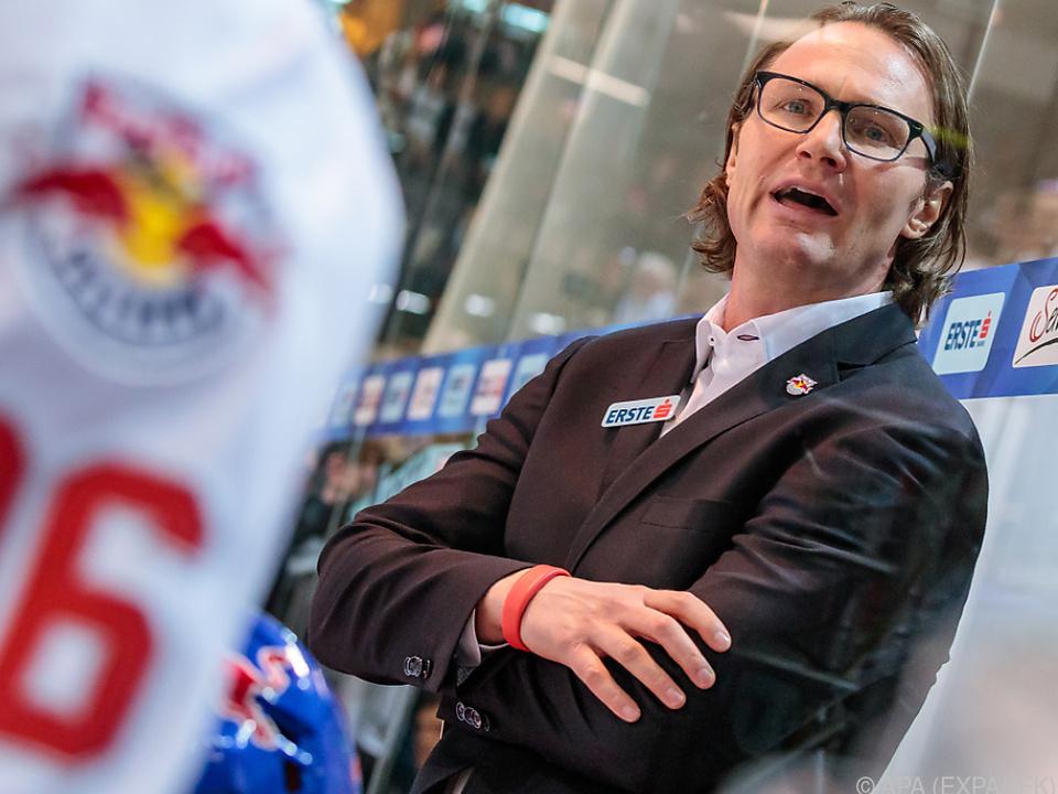 Greg Poss will die EBEL-Trophy nach Salzburg holen
