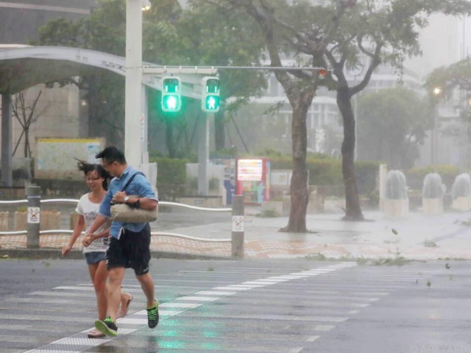 Heftige Regenfälle werden weiterhin vorhergesagt