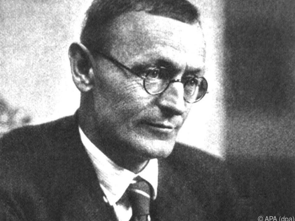 Hermann Hesse auf einem undatierten Foto