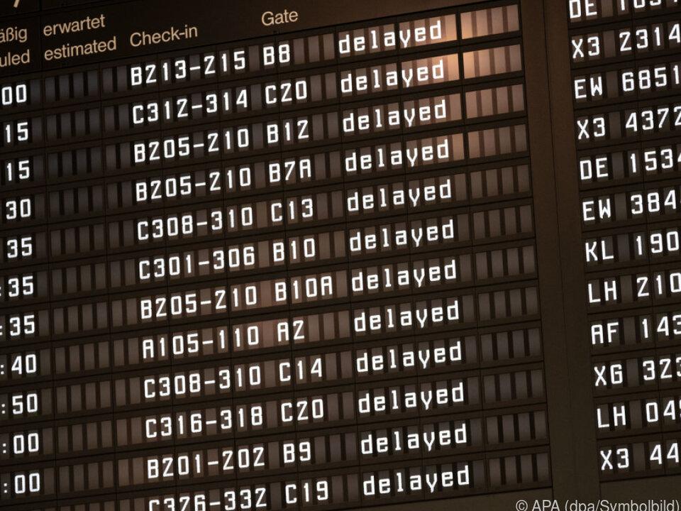 Heuer stieß das Flugverkehrssystem an seine Grenzen