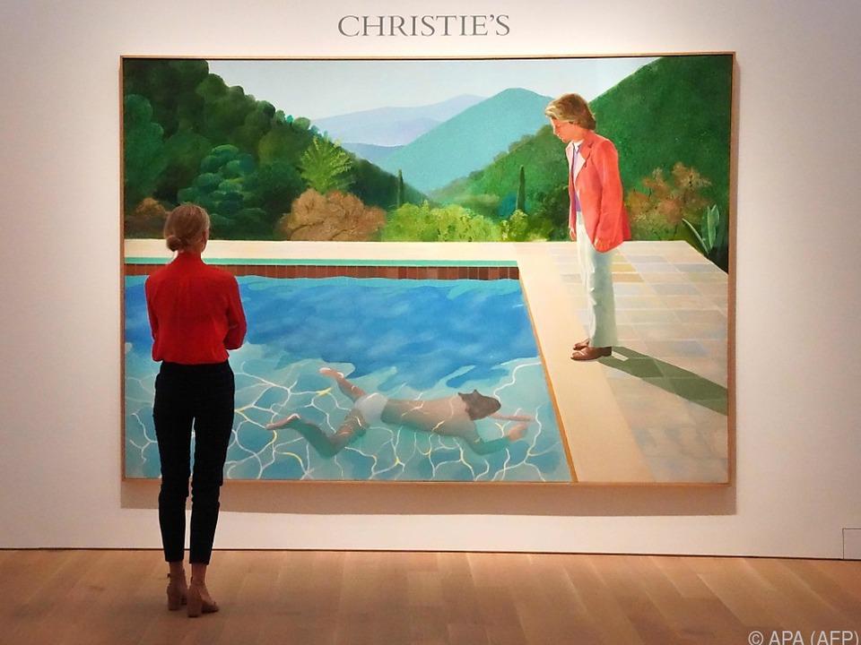 Hockney-Gemälde \
