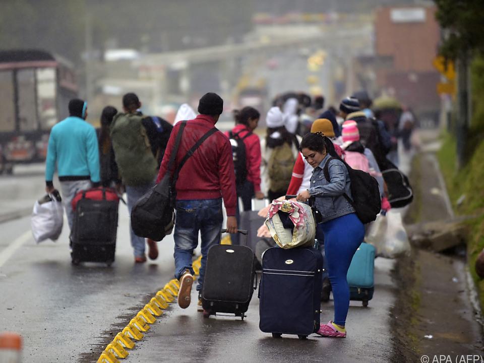 Hunderttausende haben bereits das Land verlassen