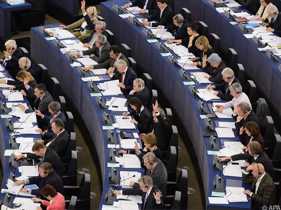 Im EU-Parlament wurde heftig diskutiert