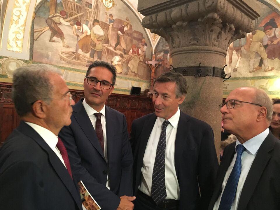 Prodi Widmann, Kompatscher, Brugger