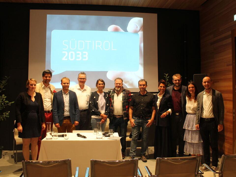 Südtiroler 2033, Gesprächsarena, Wirtschaft