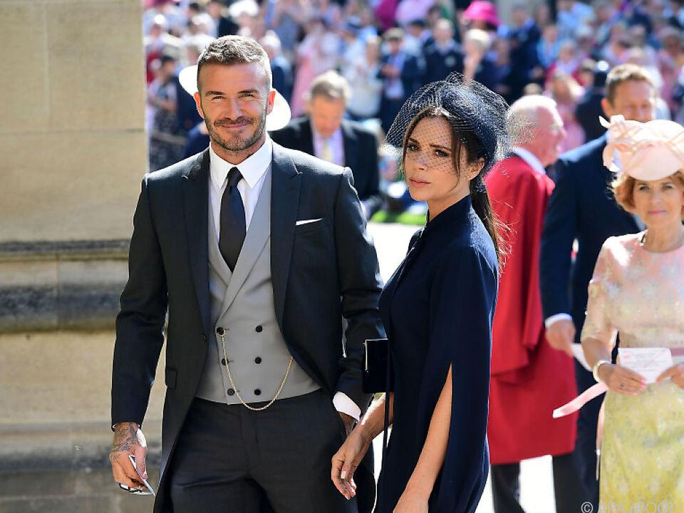 Immer wieder gibt es Krisengerüchte über die Beckhams