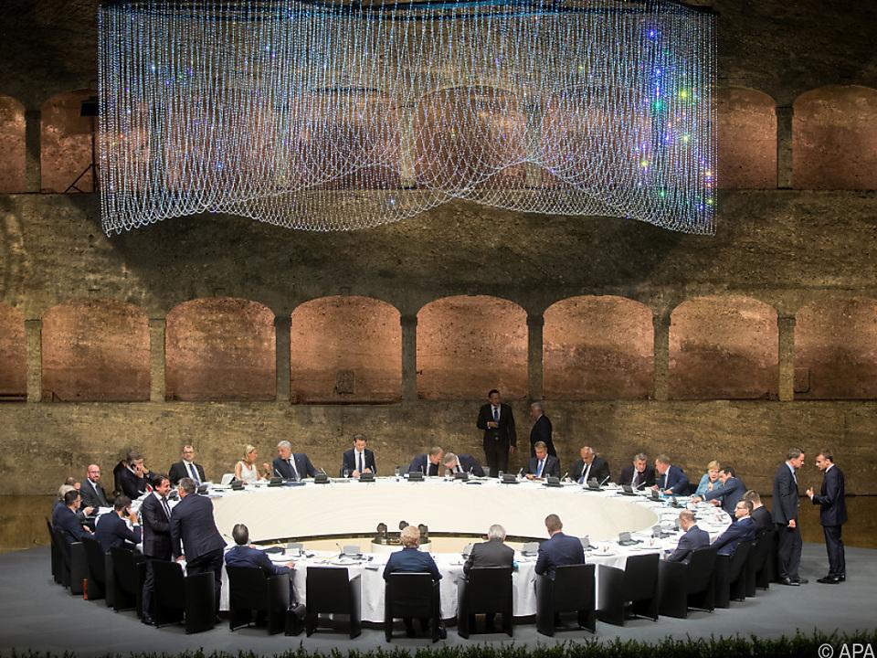 Informelles Abendessen der Staats- und Regierungschefs