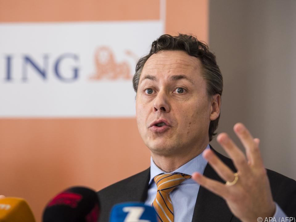 ING-Vorstandschef Ralph Hamers