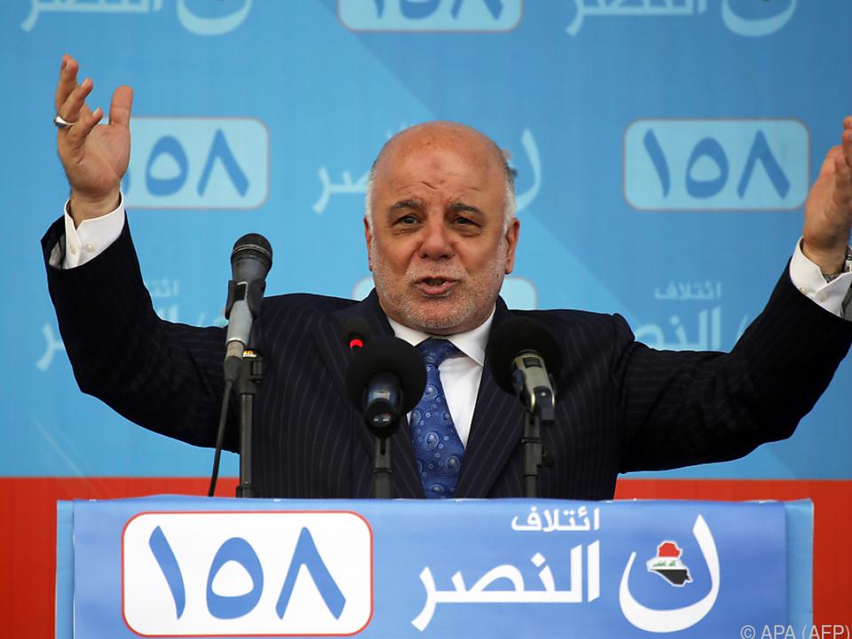 Iraks Ministerpräsident Haidar al-Abadi will neue Regierung bilden