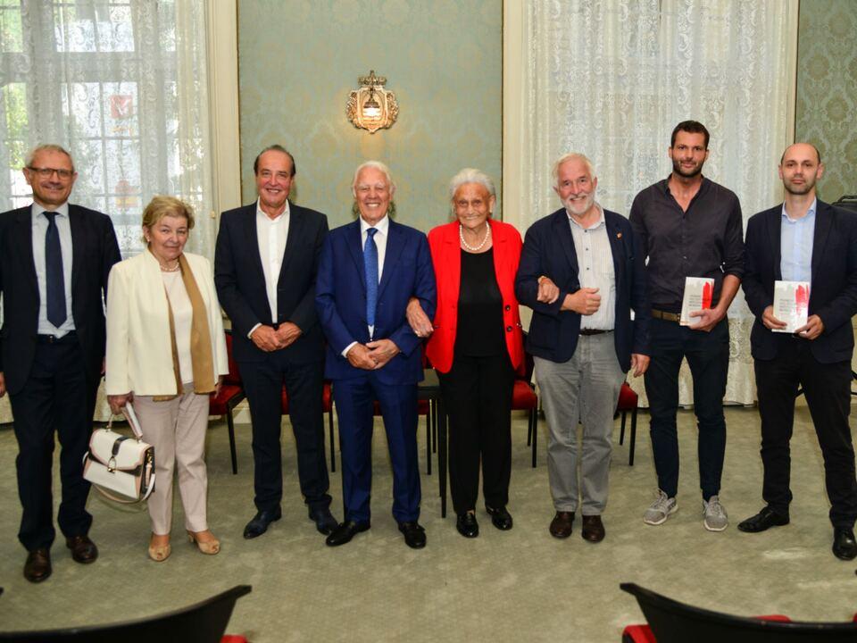 Josef Negri, Maria Luise Troyer, Hans Krapf, Karl Pichler, Luise Dorfer, Georg Oberrauch, Rainer Hilpold, Arnold Sorg
