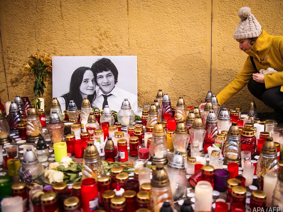 Journalist Kuciak und seine Freundin wurden im Februar ermordet
