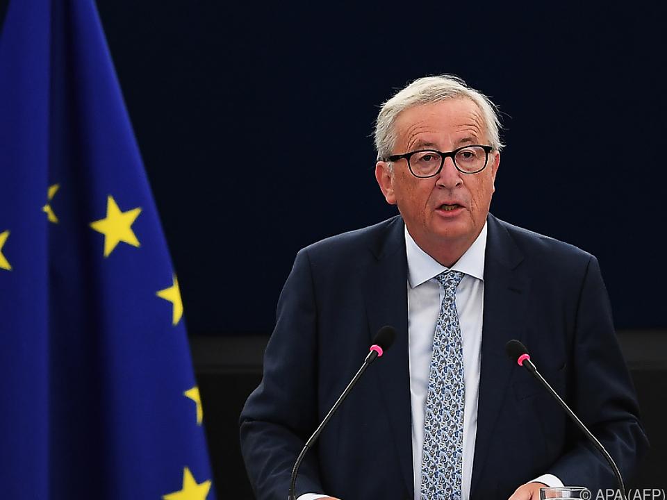 Juncker wünscht sich eine einige EU auf der Weltbühne