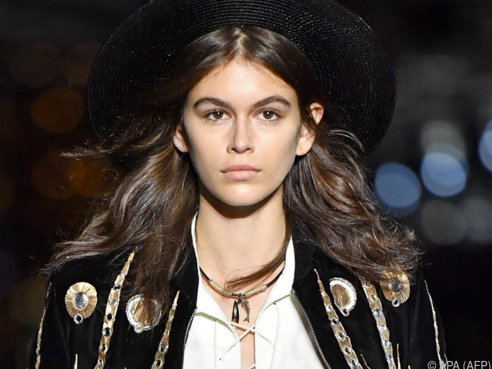 Kaia Gerber wird eine große Model-Karriere prophezeit