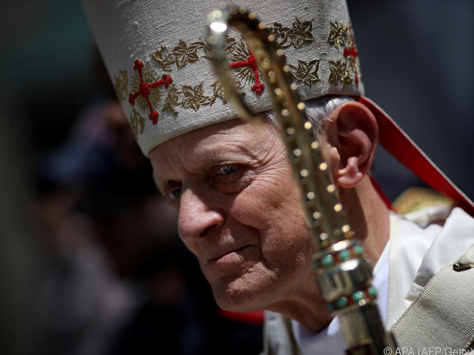 Kardinal Donald Wuerl will dem Papst seinen Rücktritt anbieten
