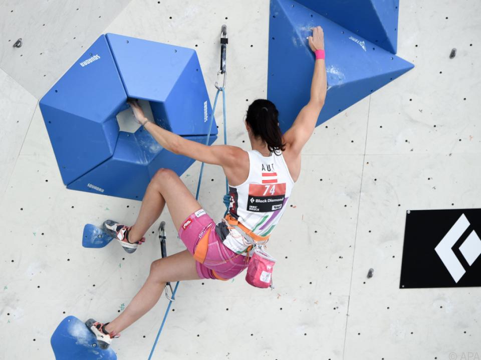 Katharina Posch schied aus